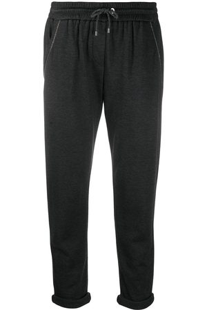 Brunello Cucinelli Tapered drawstring sweatpants
