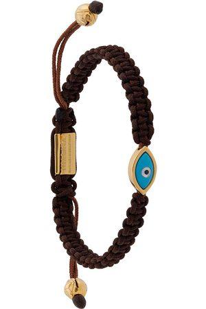 Nialaya Herren Armbänder - Evil Eye string bracelet