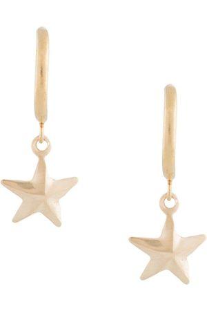 Petite Grand Star half loop earrings