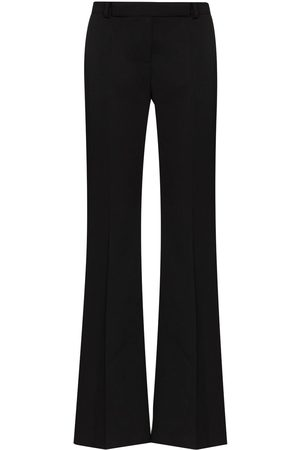 Alexander McQueen High-waisted wool trousers