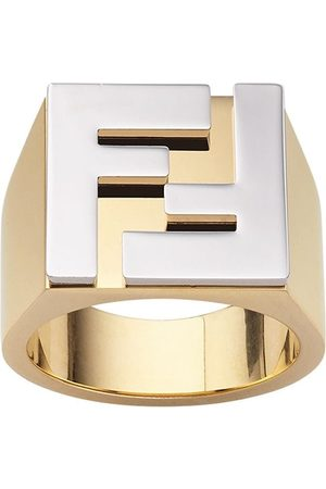 Fendi FF motif ring