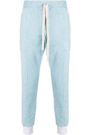 Casablanca Terry fleecy cotton track pants