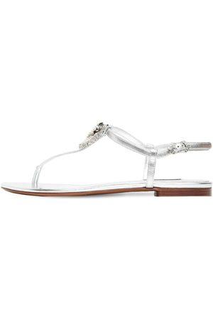 Dolce & Gabbana 10mm Hohe Ledersandaletten