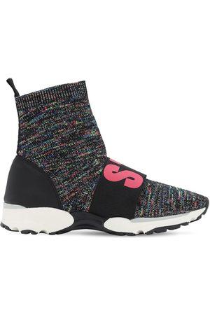 Stella McCartney Sockensneakers Aus Strick Mit Logo
