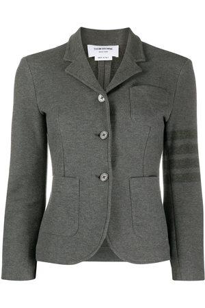 Thom Browne Damen Blazer & Sakkos - Tonal 4-Bar cotton twill jacket