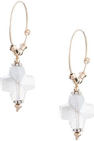Petite Grand Replicant crystal hoop earrings