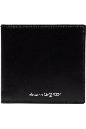 Alexander McQueen Billfold leather wallet
