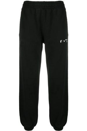 OFF-WHITE Diagonal stripe track pants