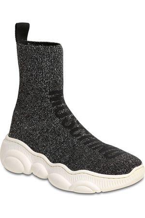 Moschino Sockensneakers Aus Glitzerstrick