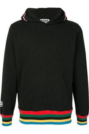 A BATHING APE® Stripe-detail hooded sweatshirt