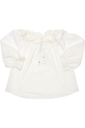 ZIMMERMANN Cotton Eyelet Lace Shirt
