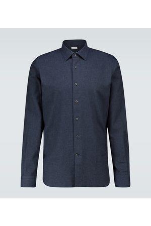 CARUSO Slim-Fit-Hemd aus Baumwolle