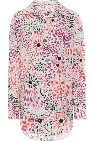 Marni Bedrucktes Hemd aus Baumwolle