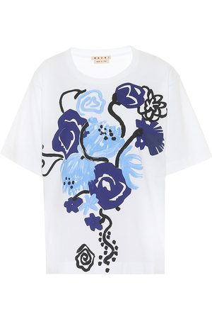 Marni Bedrucktes T-Shirt aus Baumwolle