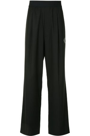 We11 Done Elasticated wide leg trousers