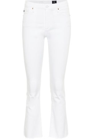 AG Jeans High-Rise Flared Jeans The Jodi Crop
