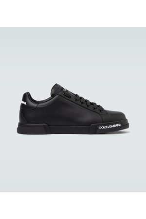Dolce & Gabbana Leder-Sneakers Port Light