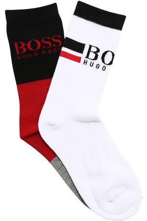 HUGO BOSS 2 Paar Socken Aus Baumwollmischung