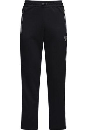 EA7 Herren Jogginghosen - Trainingshose Aus Baumwollmischung Mit Logo