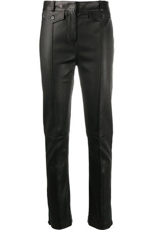 Tom Ford Leather skinny-leg jeans