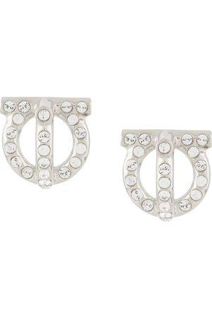 Salvatore Ferragamo Damen Ohrringe - Gancini style stud earrings