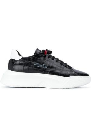 Giuliano Galiano Herren Sneakers - Crocodile-embossed Nemesis sneakers
