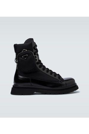 Prada Herren Stiefel - Ankle Boots aus Leder