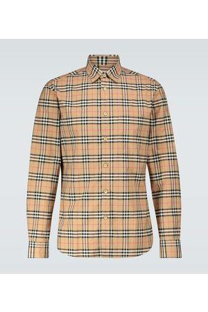 Burberry Herren Freizeit - Baumwollhemd mit Vintage-Karo