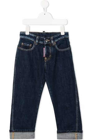 Dsquared2 Jungen Jeans - Rolled-cuff jeans