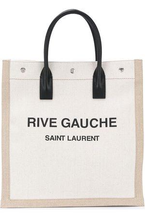 Saint Laurent Logo-print tote bag