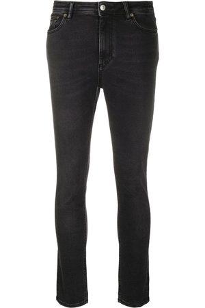 Acne Studios Peg Used Blk skinny jeans