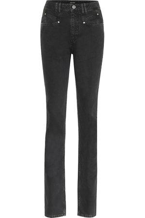 Isabel Marant High-Rise Slim Jeans Nominic