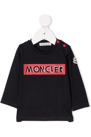 Moncler Logo print long sleeve t-shirt