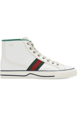 """Gucci 10mm Hohe Canvassneakers """" Tennis 1977"""""""