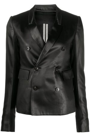 Rick Owens Fitted double breasted blazer