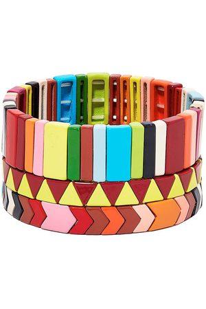 Roxanne Assoulin Damen Armbänder - Picnic Blanket set of three bracelets