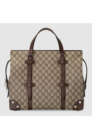 Gucci Herren Koffer - Shopper mit Lederdetails