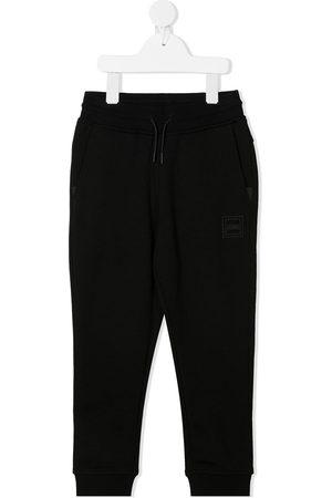HUGO BOSS Jungen Slips & Panties - Logo print cotton tracksuit bottoms