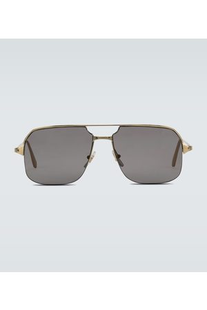 CARTIER EYEWEAR Aviator-Sonnenbrille aus Metall