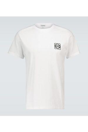 Loewe Besticktes T-Shirt aus Baumwolle