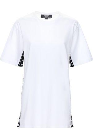 Stella McCartney T-shirt Aus Bio-baumwolle Mit Logodruck