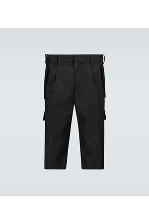 J.W.Anderson Cargo-Shorts aus Merinowolle
