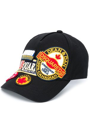 Dsquared2 Kids Embroidered patchwork cap