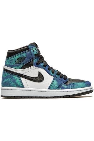 "Jordan Damen Sneakers - Air 1 High ""Tie-Dye"" sneakers"
