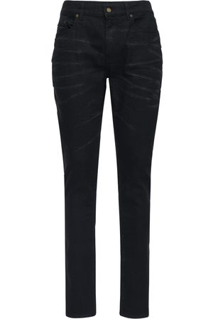 Saint Laurent 16cm Enge Jeans Aus Stretch-baumwolldenim