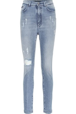 Dolce & Gabbana High-Rise Slim Jeans Audrey