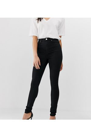 ASOS ASOS DESIGN Tall high rise ridley ''skinny'' jeans in clean