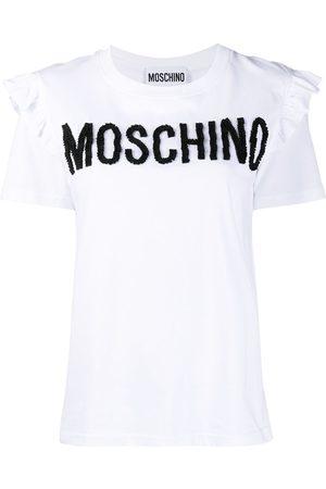 Moschino Grosgrain logo T-shirt