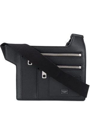 Dolce & Gabbana Herren Gürtel - Palermo angular multi-zip flat belt bag