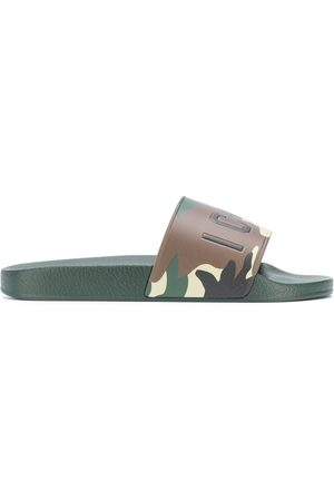 Dsquared2 Camouflage print slides